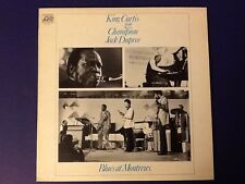 KING CURTIS & CHAMPION JACK DUPREE~blues at montreux all ORIGINAL1973 1st pr A/A