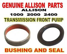 Allison 1000 2000 2400 Transmission Front Pump Bushing and Seal - 2000+