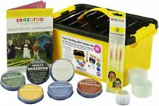 SNAZAROO PROFESSIONAL FACE PAINTING KIT & GUIDE DOES OVER 300+ FACES