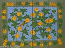 "Ceramic Tile Mural Backsplash Poole Squash Floral Flowers  Art 17""x12.75"" FPA032"