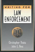 Writing for Law Enforcement