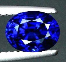Unheated 6.04ct Rich Royal Blue Sapphire 10X12mm Oval Shape Top Quality VVS