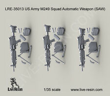 Live Resin 1/35 LRE-35013 US Army M249 Squad Automatic Weapon (SAW)