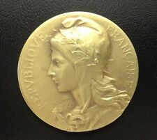 BRONZE MEDAL BY F. RASUMNY - FRENCH REPUBLIC - FOOD INDUSTRY 1947 / M58