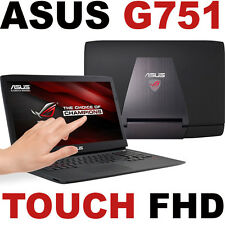 "Win 10 TOUCH 32GB 1TB SSD+ nVIDIA ASUS G751JM 17.3"" FHD Quad i7 LAPTOP G751 ROG"