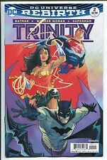 TRINITY #2 - REBIRTH - FRANCIS MANAPUL REGULAR REBIRTH COVER - DC COMICS/2016
