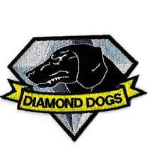METAL GEAR SOLID PATCH DIAMOND DOGS COSPLAY VELCRO BADGE BIG BOSS EMBLEM