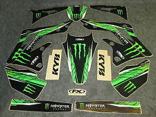 Kawasaki KXF450 2012-2015 Factory FX Monster Energy graphics kit GR1223
