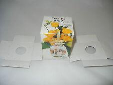 Leere Schachtel für Hutschenreuther EI Porzellan 1992 (meine Pos. 2)