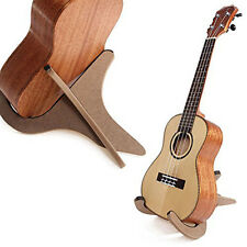 Holz Halter Gitarrenständer faltbarer für Gitarre Ukulele Mandoline Banjo New