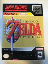 Legend of Zelda A Link to the Past - Super Nintendo - Replacement Case - No Game