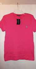 RALPH LAUREN PINK SHORT SLEEVE TEE TOP NWT MISSES XLARGE