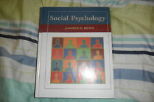 LIKE NEW Social Psychology Textbook by Jonathon D. Brown 2005