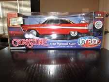 JOYRIDE 1:18 SCALE CHRISTINE**1958 Plymouth Fury**RARE**Stephen King**Die Cast