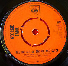 """Georgie Fame The Ballad Of Bonnie & Clyde 7"""" UK ORIG 1967 CBS Beware Of The Dog"""