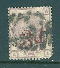 Great Britain 1883 3p on 3p violet Scott #94 Nice Sound Used Cat $150.00