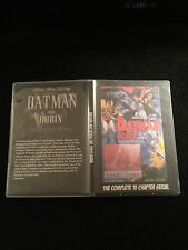 BATMAN AND ROBIN CLIFFHANGER SERIAL 15 CHAPTERS 2 DVDS