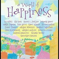 WORLD OF HAPPINESS cd Perry Farrell/Debbie Harry/Gary Oldman/Lou Rawls/Lisa Loeb