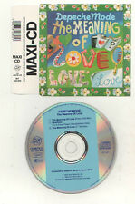 Depeche mode-  the meaning of love   cd