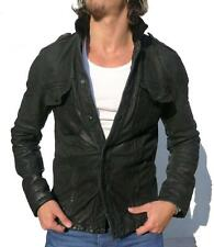 *CORDED COLLAR* Spitalfields ALL SAINTS CIPHER LEATHER SHIRT jacket M RRP £325