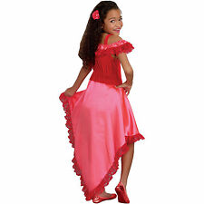 Senorita Spanish Flamenco Dancer Girls Child L large 10-12 Costume Kids Dress Up