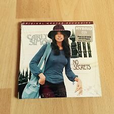 Carly Simon - No Secrets Ltd. Ed. Numbered MFSL Hybrid Stereo SACD