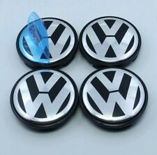 4X 65MM VW  ALLOY WHEEL CENTRE CAP FIT POLO GOLF SERIES PASSAT SCIROCCO BORA