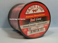 Cajun Red Lightnin Red Cast 10# 1450 yds Fishing Line