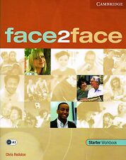CAMBRIDGE Face2face Starter Workbook A1 with Key @BRAND NEW BOOK@