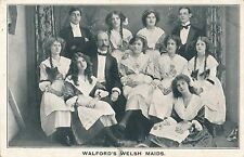 POSTCARD  THEATRE  Walford's  Welsh  Maids