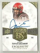 Gavin Escobar 2013 UD Exquisite RC Signatures on-card Auto #'d 55/70 - COWBOYS