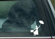 Mary Poppins sticker decal for cars