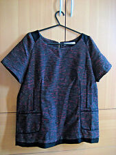 S 8 ASOS See U Soon Tweed Lined Shell Top with Pockets Top Blouse SOLD OUT RRP46