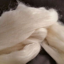 Cashmere & Silk Roving Combed Top 50/50 luxury fibre Mulberry Bombyx spin yarn