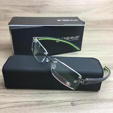 TAG HEUER TH 7642 TH7642 Eyeglasses Frames Dark Grey 008 Authentic 53mm