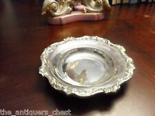Old English Bonbon Dish c1940s by Poole Siver Co., Silverplate[*]