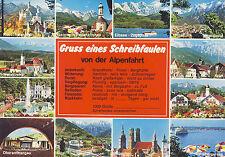 AK: Gruss eines Schreibfaulen von der Alpenfahrt