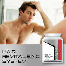 PRO GROWTH MENS ANTI-GREY HAIR PILL HAIR REVITALISING SYSTEM YOUNG HAIR TABLET