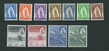 BAHRAIN 1964 definitives Sheikh al-Khalifa  (SG 28-38 complete set) VF MNH