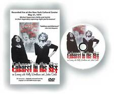 Cabaret in the Sky Holly Woodlawn signed DVD Warhol superstar