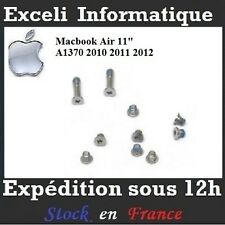 "Lot 10 Vis Bottom Screw Set Case Pour Apple Macbook Air 11"" A1370 2010 2011 2012"