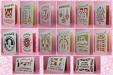 CRAFT ROBO/SILHOUETTE Xmas card & insert templates CD4 (New)