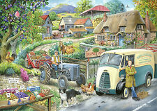 The House Of Puzzles - 1000 PIECE JIGSAW PUZZLE - Plum Jam Fresh Farm Produce