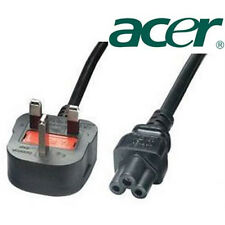 Clover Mains Power Cable UK Plug for ACER Laptop