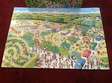 Where's Waldo Safari Park 100 Pc Children's Jigsaw Puzzle 1989 Vintage Ages 5-12