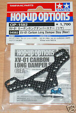 Tamiya 54582 XV-01 Carbon Long Damper Stay (Rear) (XV01/XV-01 Pro), NIP