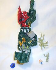 Mighty Max Doom Zones Crushes The Hand 100% Complete Set Playset Bluebird Toys