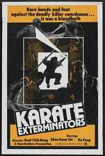 Karate Exterminators Poster 01 A3 Box Canvas Print
