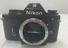 Nikon EM 35mm Film SLR Camera Body with strap from Japan