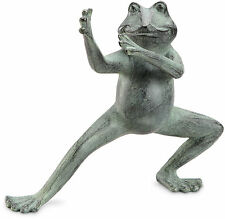 Flexing Tai Chi Frog Garden Statue/Sculpture by SPI Home/San Pacific Int'l 34205